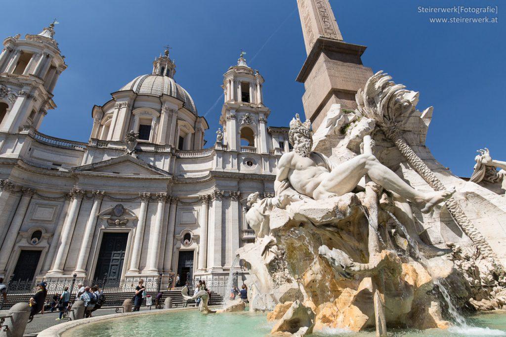 Vierströmebrunnen in Rom