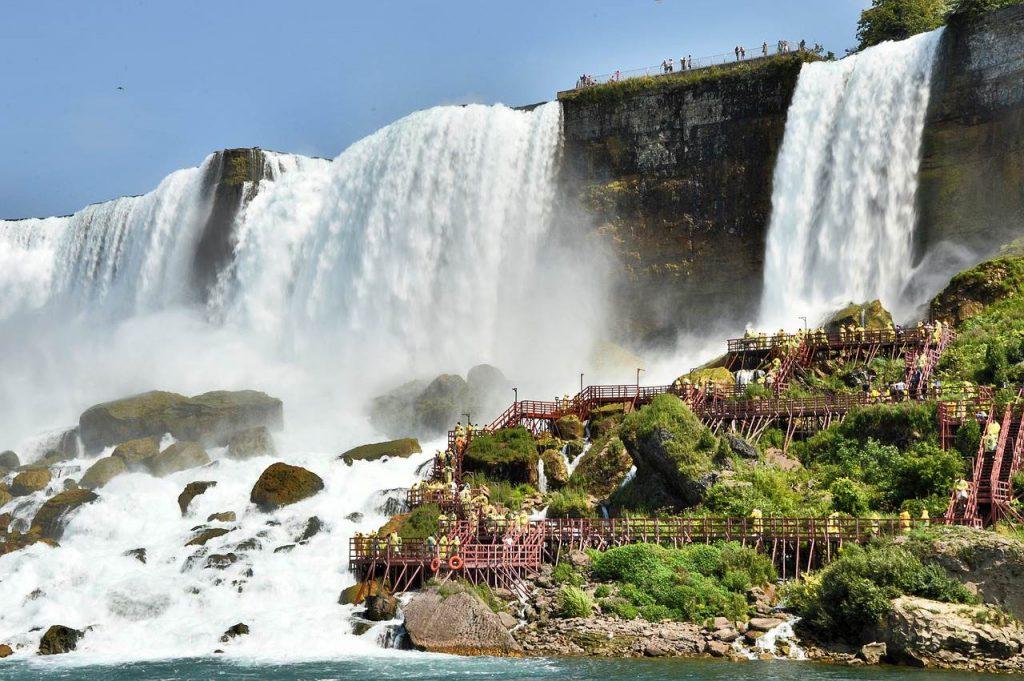 Niagarafälle in den USA