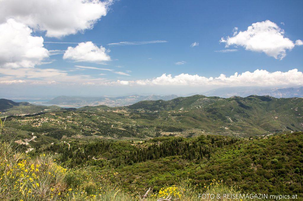 Ausflug Lefkada Hinterland Berge