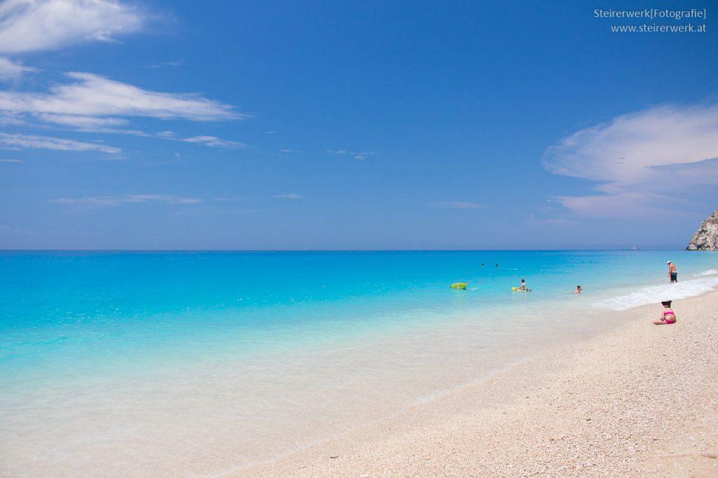 Egremni Beach - Schönster Strand auf Lefkada