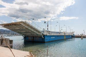 Lefkada Brücke