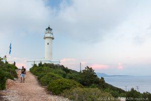 Leuchtturm Kap Doukato auf Lefkas