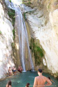 Wasserfall Dimosari Lefkada