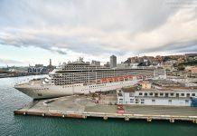 Genua Kreuzfahrt Hafen