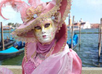 Venedig Karneval Masken