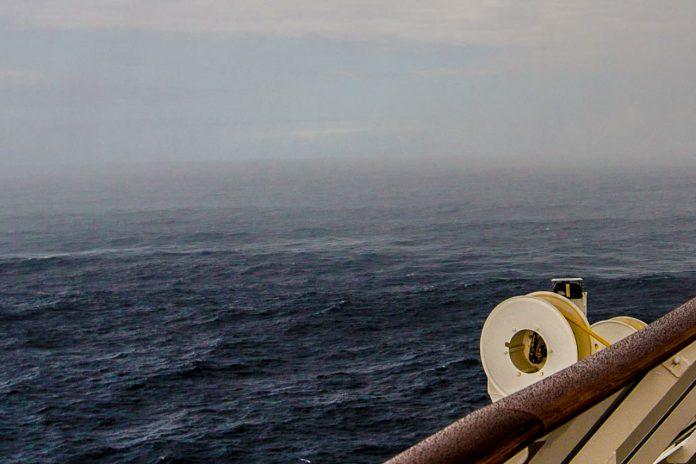 Kreuzfahrtschiff Sturm