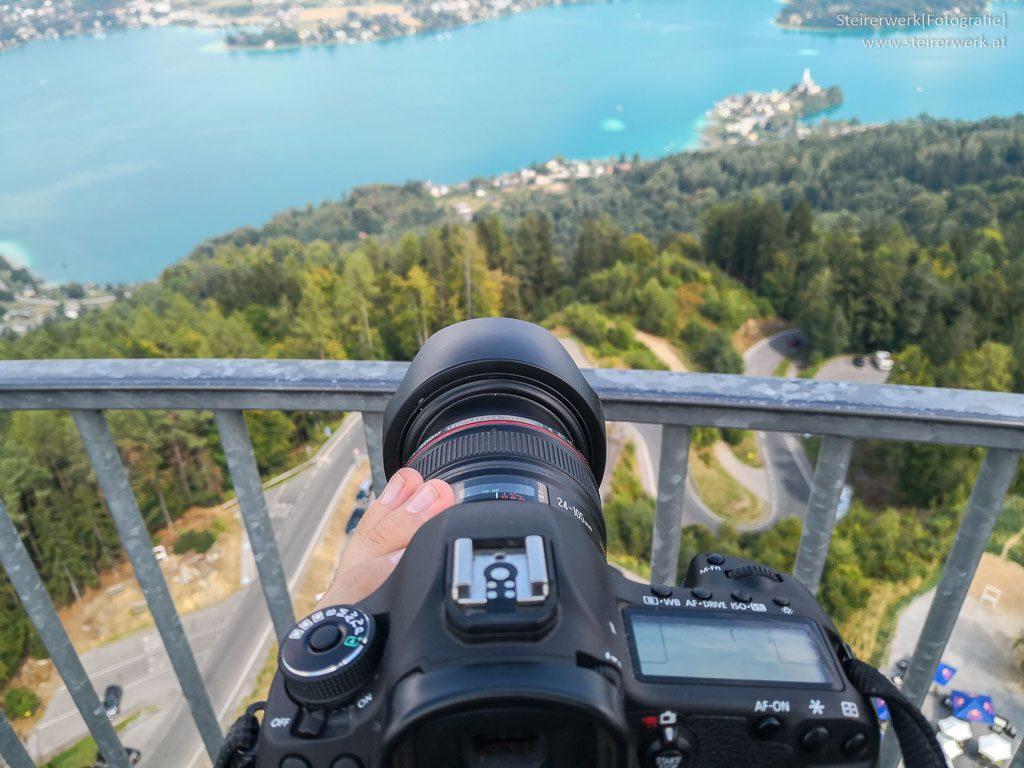 Tipps zum Fotografieren auf dem Aussichtsturm Pyradmidenkogel
