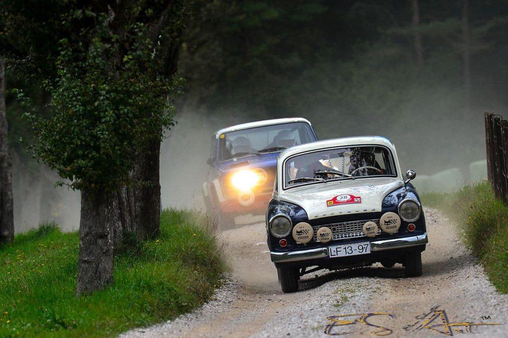 Oldtimer bei der Austrian Rallye Legends fotografieren