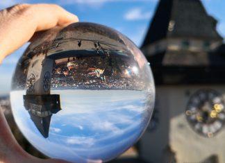 Glaskugel Fotografie mit dem Smartphone
