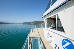 Schiffreise am Wörthersee im Familienurlaub