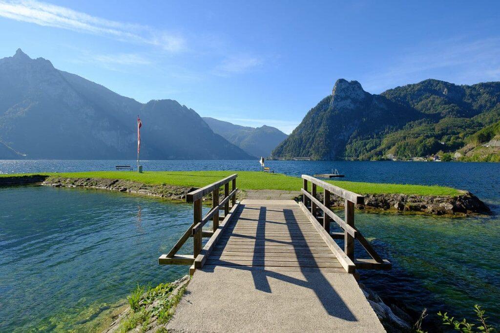 Freie Seezugänge in Österreich