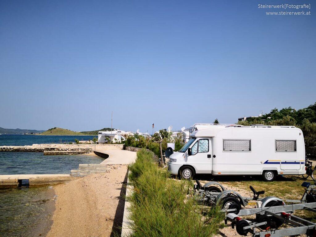 Camping Strand Kroatien