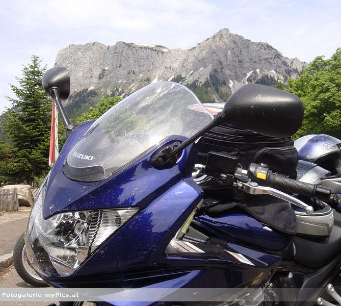 Motorrad in der Steiermark