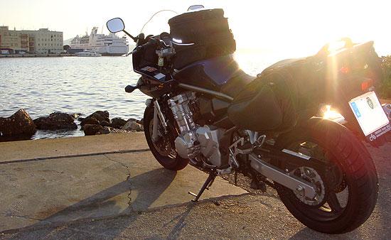 Bei der Kroatien Motorradtour in Zadar angekommen