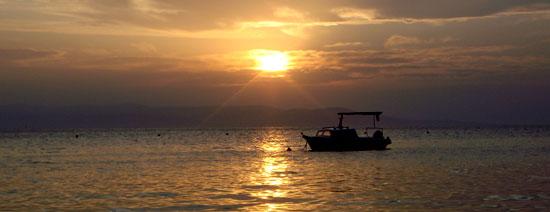 Makaskar Sonnenuntergang