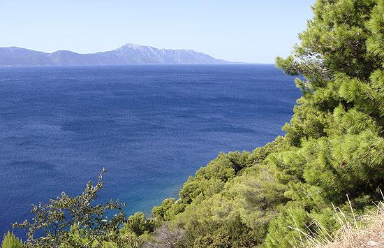 Makarska Riviera und das Meer im Sonnenschein