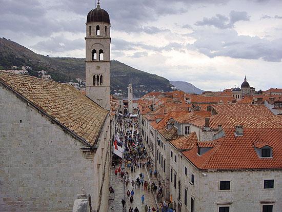 Dubrovnik nach dem Regen