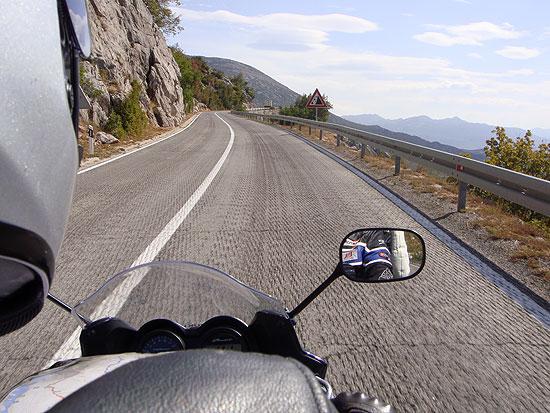 Mit dem Motorrad ins Velebit Gebirge