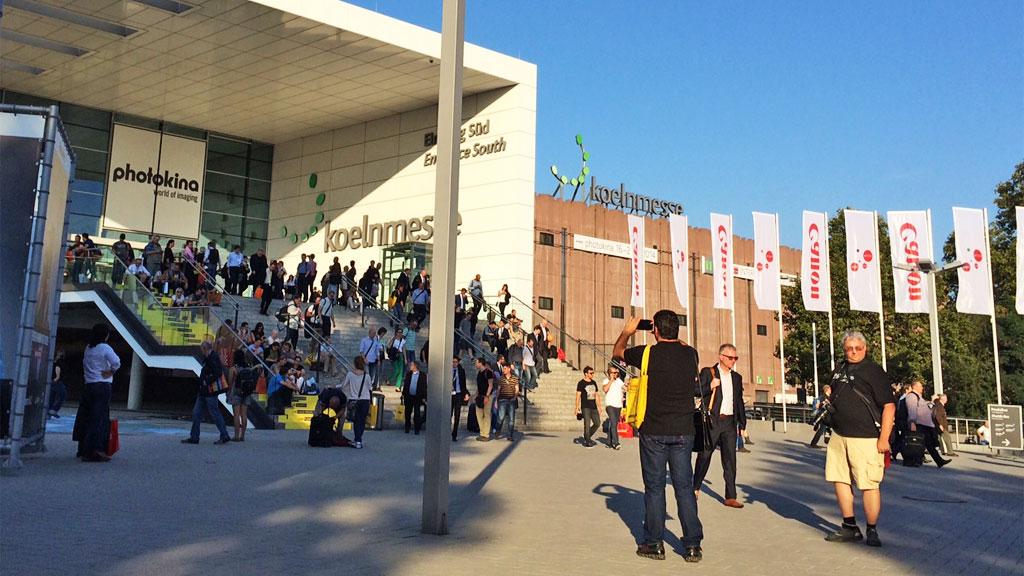 photokina Kölnmesse Eingang