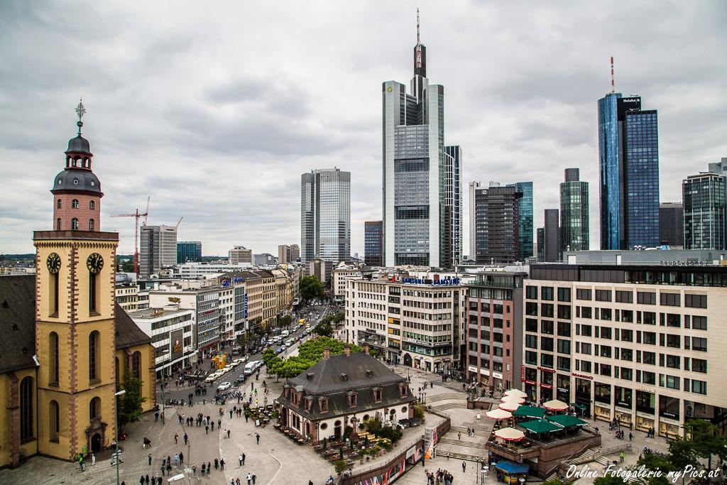 Aussicht Frankfurt Zeilgalerie