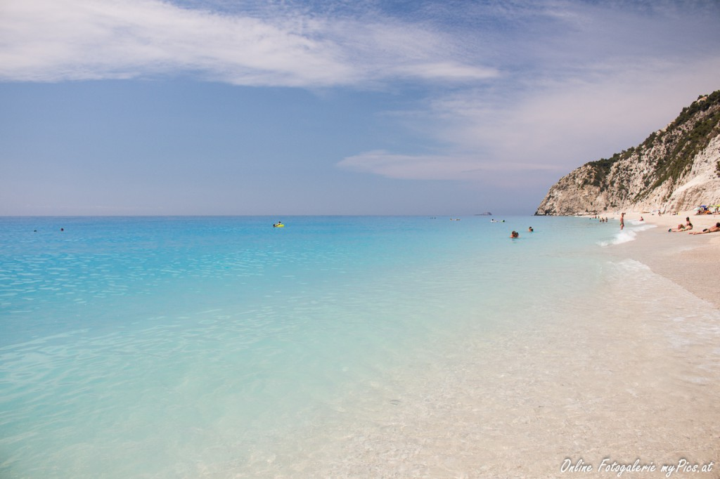 egremni beach lefkas greece