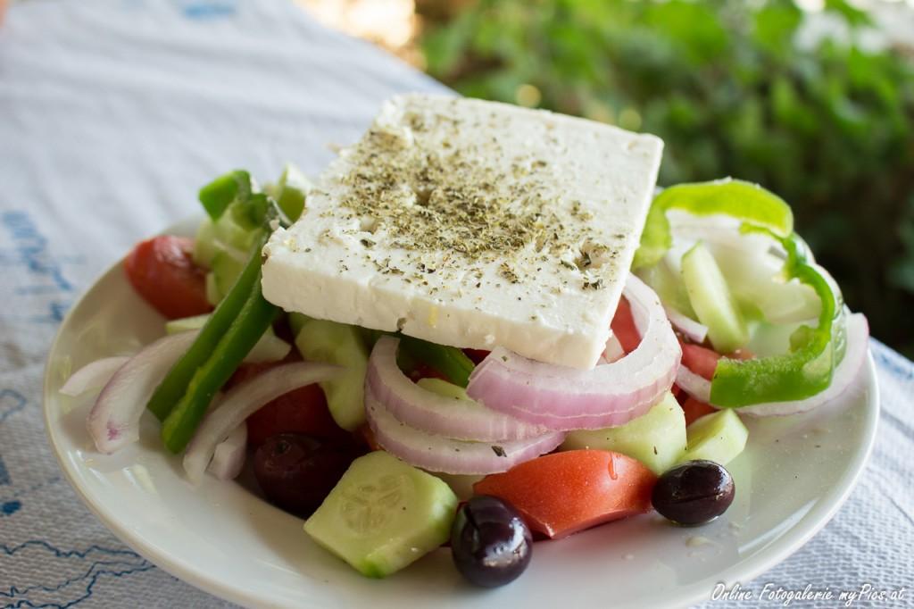 Griechischer Salat Foodfotografie